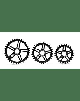 PLATO BMX STAR 25T NEGRO DARTMOOR