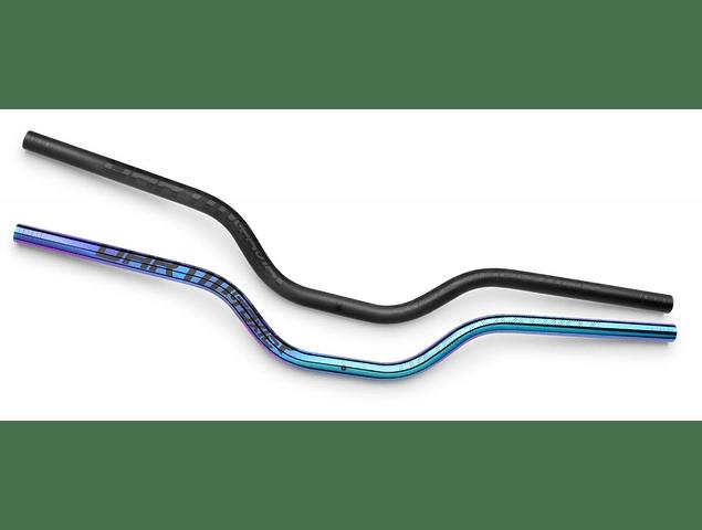 MANUBRIO TOXIC V.2 ( 22.2 - 25.4 ) NEGRO CR-MO 750 X RISE 3.5 DARTMOOR