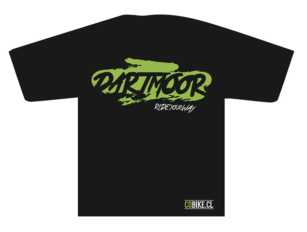 [LIQUIDACION] POLERA PARTY RIDE VERDE DARTMOOR