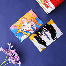 Sailor Moon y Howl