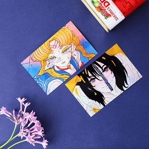 Sailor Moon y Howl