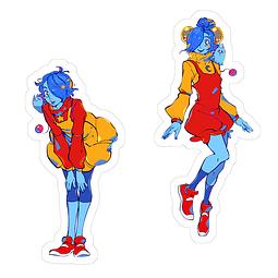 Sticker Star y Loona