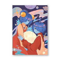 Print Star y Loona