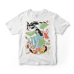 Polera Princess Koi