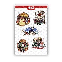 Set Stickers Ghibli
