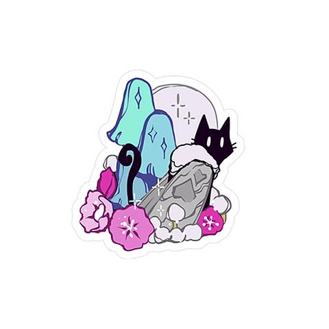 Sticker Poligato Luna