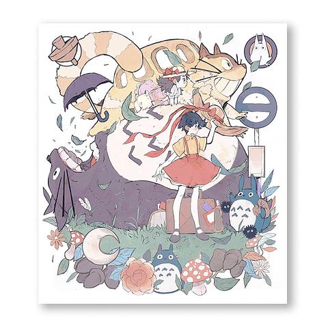 Print Museo Ghibli: Totoro