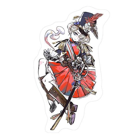 Sticker Freya