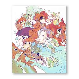 Print Ponyo