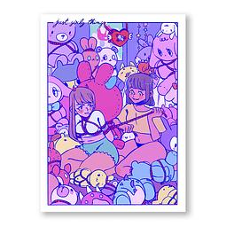 Print Girl love