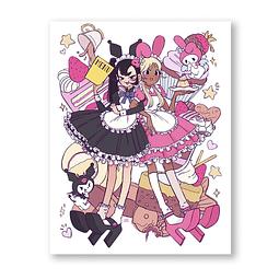 Print Coffee maid