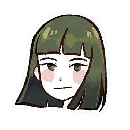 Sticker Haku