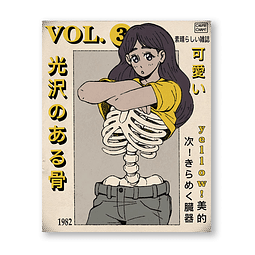 Print Shiny Bones