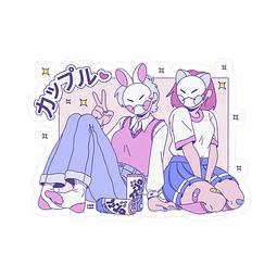 Sticker Rad girls