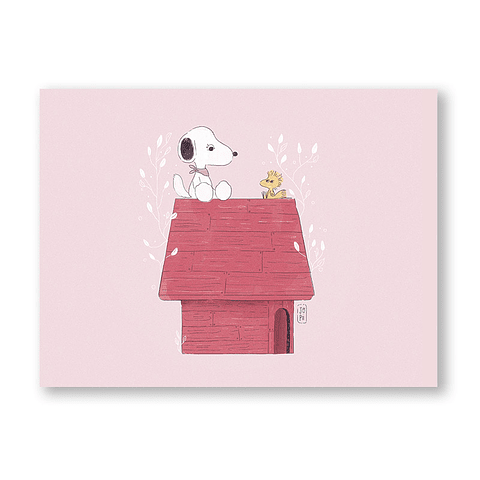 Print Snoopy day