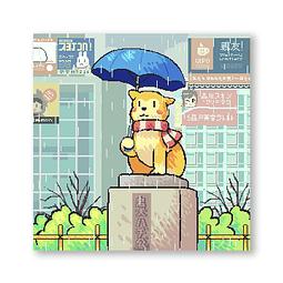 Print Waiting in shibuya
