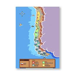 Print Chile Pixel art