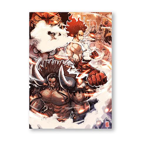 Print One Piece wano arc