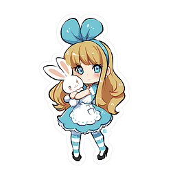 Sticker Alice