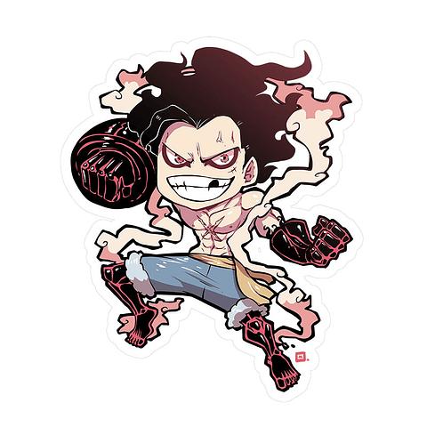 Sticker Luffy snakeman