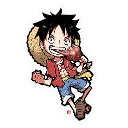 Sticker Luffy