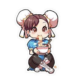 Sticker Chun-Li