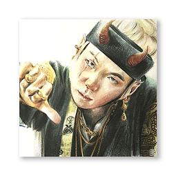 Print Jungkook (pelo largo)