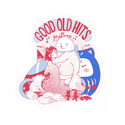 Sticker Good old hits