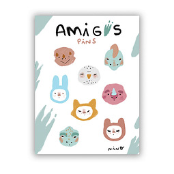 Stickers Amigxs pins