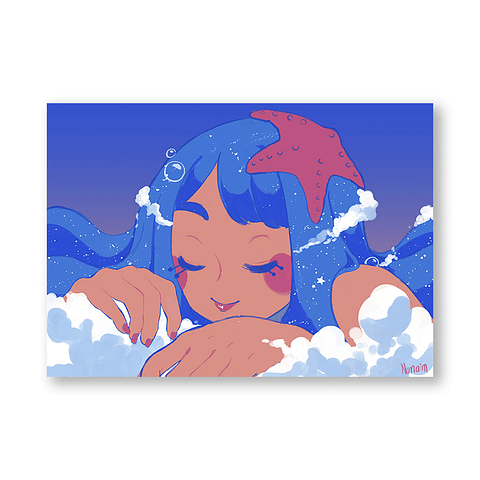 Print Niña mar
