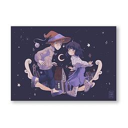 Print Noche de brujitis