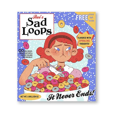 Print Sad loops