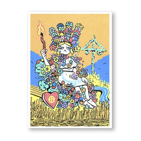 Print May queen