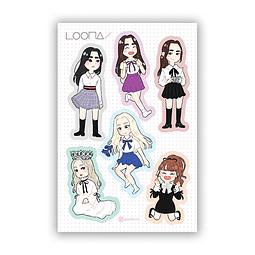 Set Stickers Loona 2