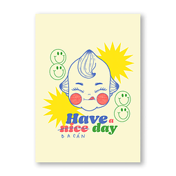 Print Have a nice day
