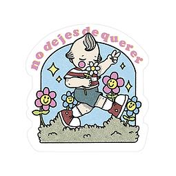 Sticker No dejes de querer