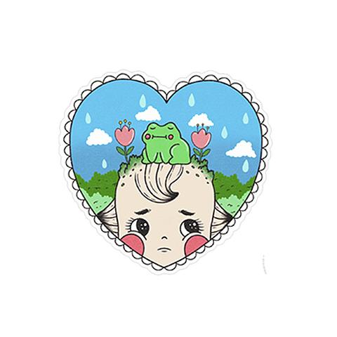 Sticker Ranita