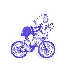 Sticker Bici