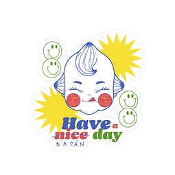 Sticker Have a nice day