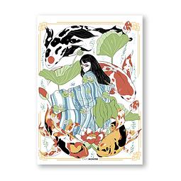 Print Princess Koi