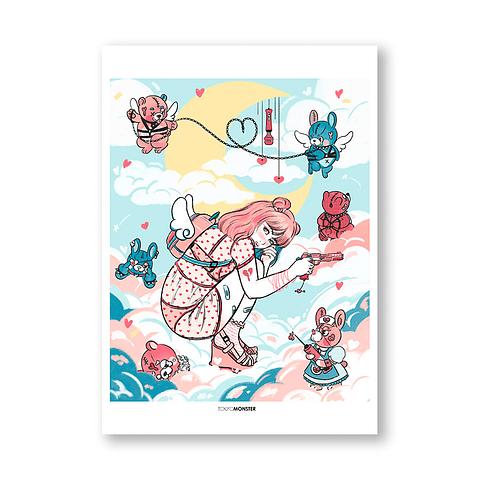 Print Tokyo Monster