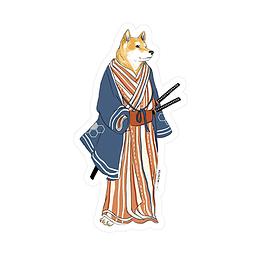 Sticker Traditional shiba