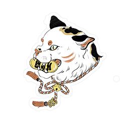 Sticker Maneki neko