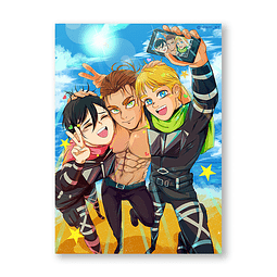 Print Forever tomodachis