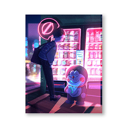 Print Nobita & doraemon