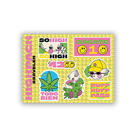 Set Stickers highpack