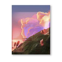 Print Moomin Land