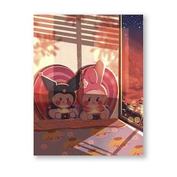 Print My Melody & Kuromi
