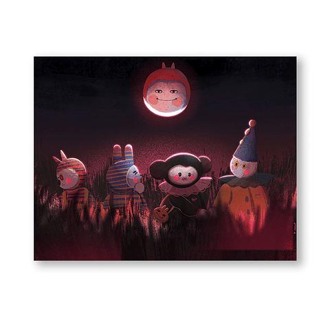 Print Halloween friends