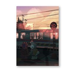 Print Won & Don Train